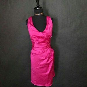 NWT David's Bridal Midi Bridesmaids Dress Sz 14